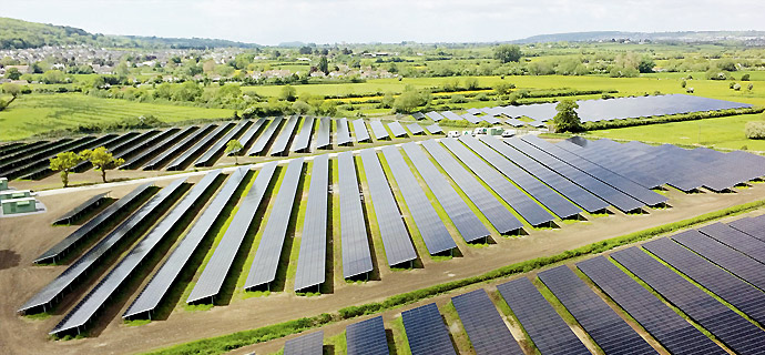 Sustainable system approach meets demanding climatic conditions of EnglandFree-field projects with Solar Frontier's optimized system approach and strong partners