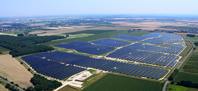 Europe's largest CIS power plant with 28.8 MWMore than 200,000 Solar Frontier modules installed in western Brandenburg state