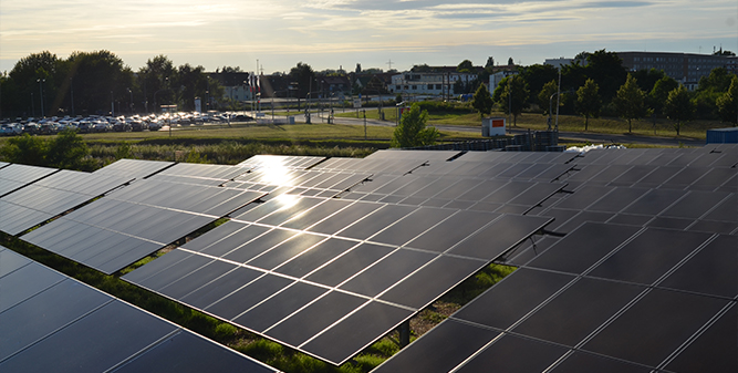 1 MW community-owned solar plant in Germany