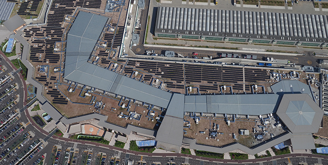 PV installations on Italy's largest shopping center